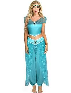 Sexy princess jasmine halloween costumes