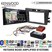 Volunteer Audio Kenwood Excelon DNX994S Double Din Radio Install Kit with GPS Navigation Apple CarPlay Android Auto Fits 2007-2009 Mazda CX-7 (With Bose)