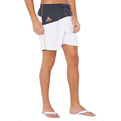 5c2d8c5e87 adidas Performance Men's Colour Block Swim Shorts White Small ...