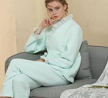 Amazon.com: mh-rita nuevo otoño invierno mujer pijama ...