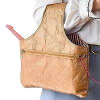 miuline Stricktasche Aufbewahrung für Wolle Handarbeitstasche Häkeln Wolle Tasche für Garn Stränge Häkelnadeln Stricknadeln
