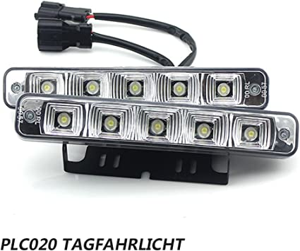 Plc020 10w 12v Super Helle Led Tagfahrlicht E4 Auto Kfz Tagfahrleuchten Daylight Auto
