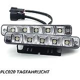 PLC02010W 12V/24V Super Bright LED Daytime Running Light E4Car Daylight