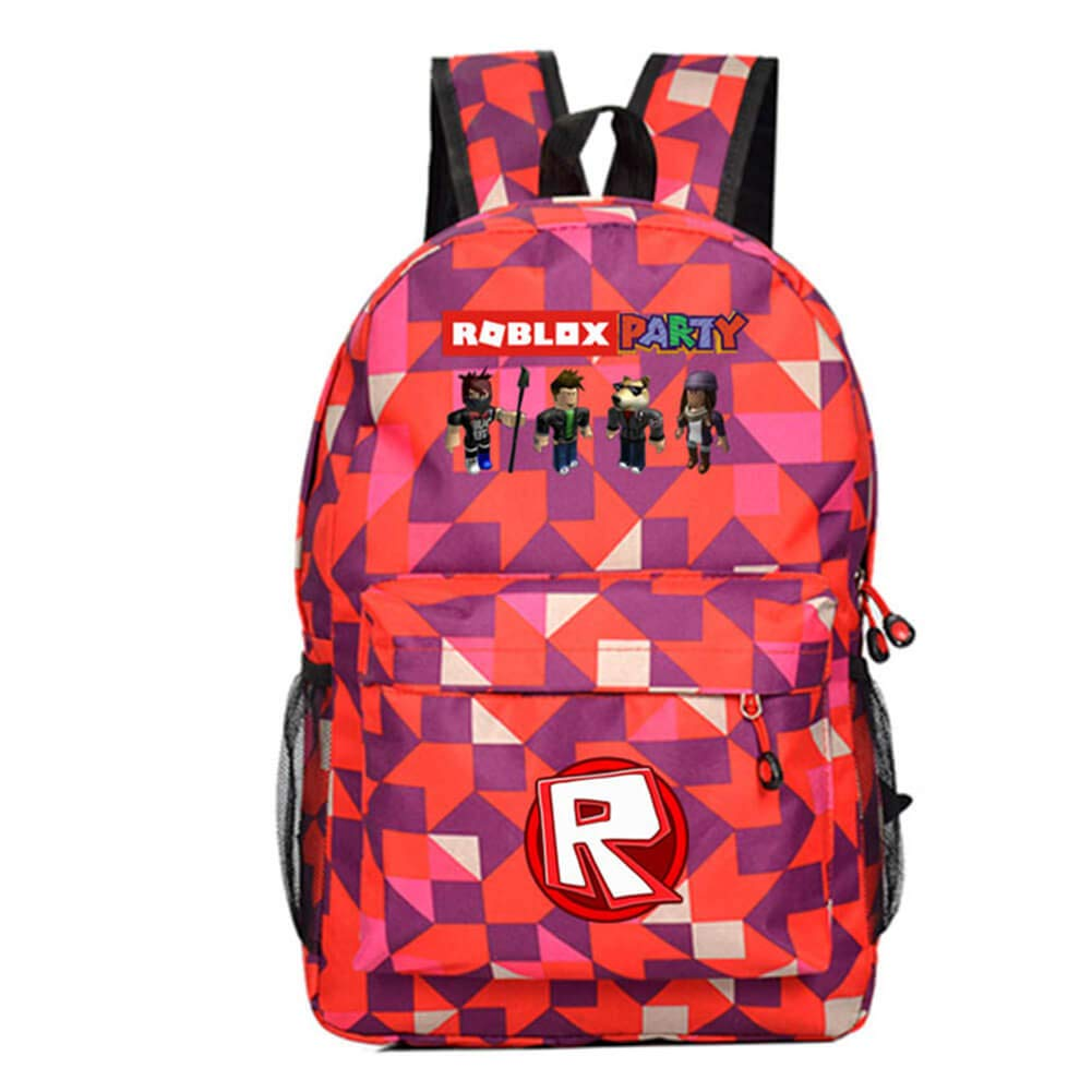99e2cb4ea860 Amazon.com : Unlimitedfy Roblox Backpack School Bag Bookbag Daypack ...