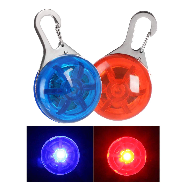 NONMON 2Pcs Collar LED Luz Perro,Clip-on Led Collares Luz de ...