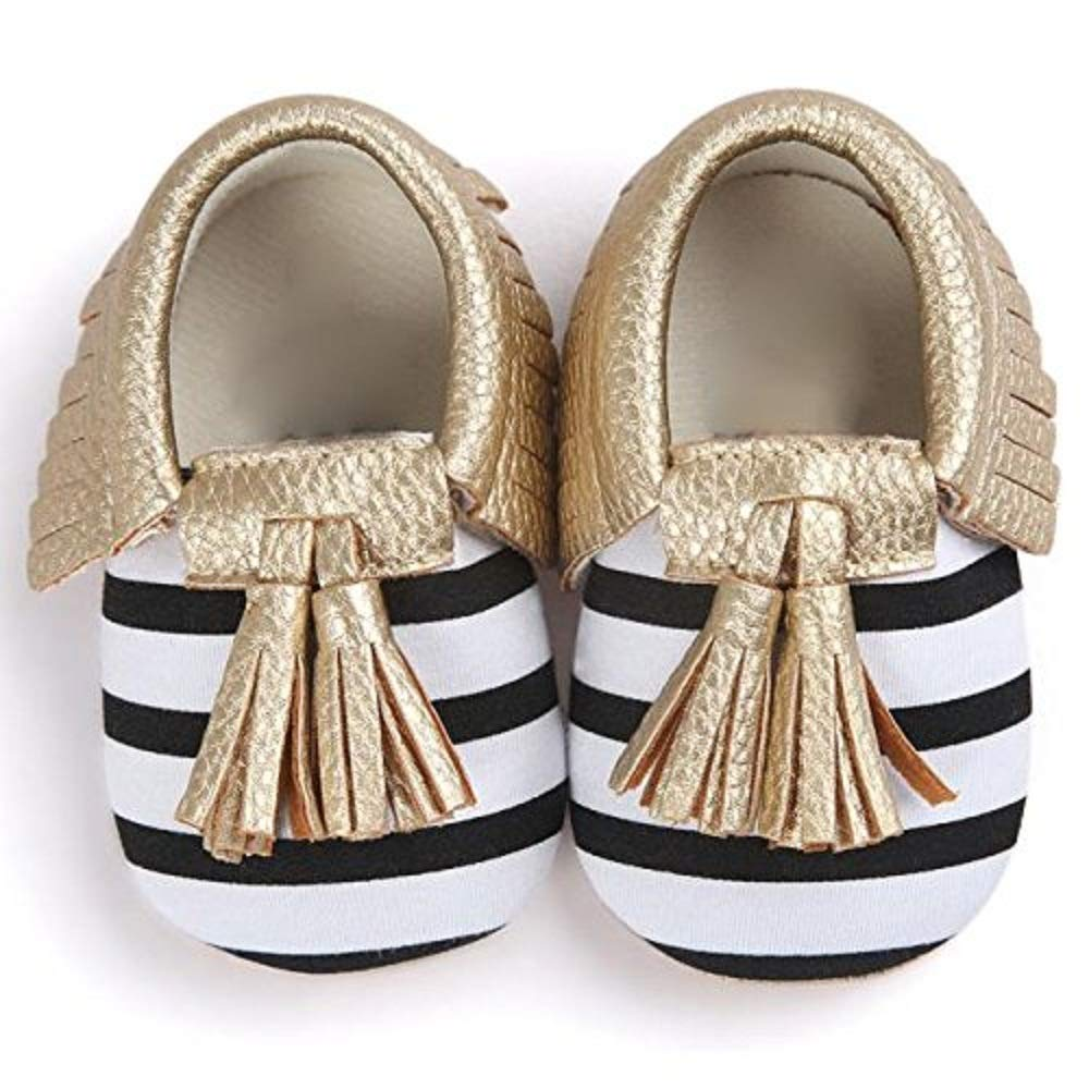 Weiyun Baby Crib Tassels Bowknot Shoes Toddler Sneakers Casual Shoes