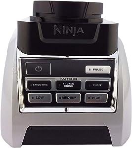 OEM Nutri Ninja Auto-IQ Power Base Blender BL688 Total Crushing Technology 1200 Watt 6 Fin Gear For 24oz BPA Free Tritan Cup 72oz XL Pitcher Home Kitchen Appliance (Certified Refurbished)