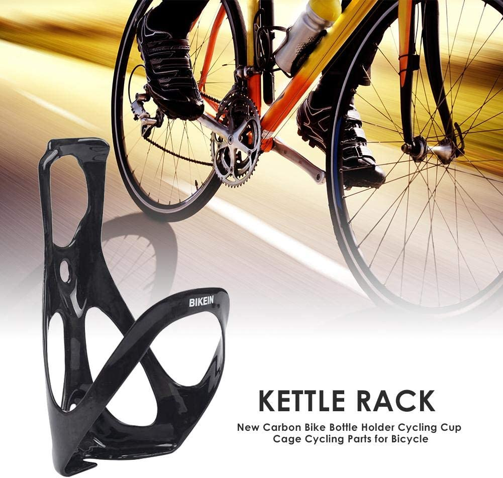 Carbon Fiber Road MTB Bicycle Bike Cycling Water Bottle Drinks Holder Rack Cage