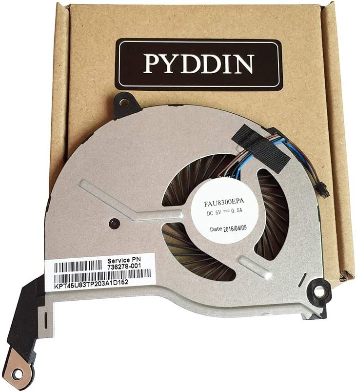 New Laptop CPU Cooling Fan for HP Pavilion 14-N 15-N 17-N Series 15-N107AX 15-N019SA 14-N027TX TPN-Q129 TPN-Q130 TPN-Q131 TPN-Q132 736278-001 736218-001