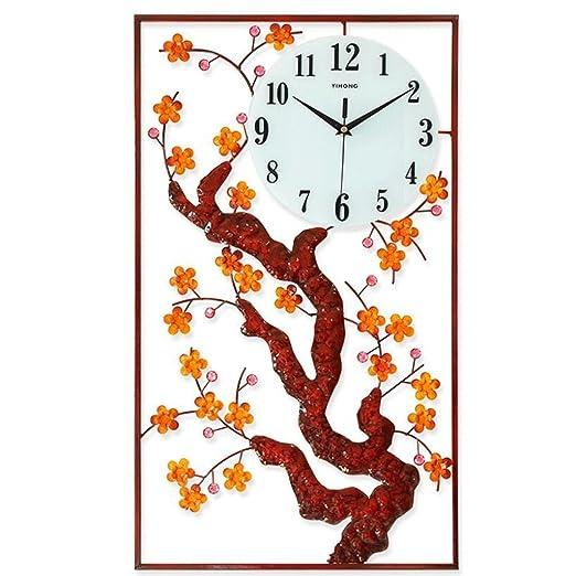 YHEGV Relojes de Pared Personalizados Mesa salón Obras de Arte ...