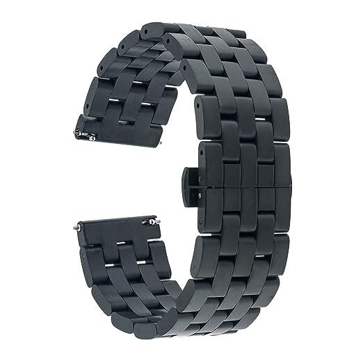 2 opinioni per TRUMiRR 22 millimetri in acciaio inox cinturino a sgancio rapido del cinturino