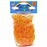 Loom Bandz - Rainbow Colours - Orange 600 Count