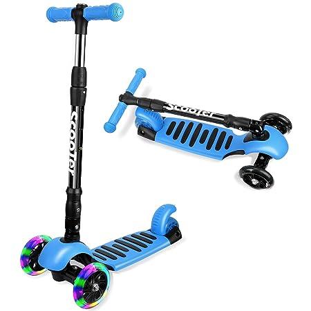 Amazon.com: ICODE Scooter para niños Premium 3 ruedas Kick ...