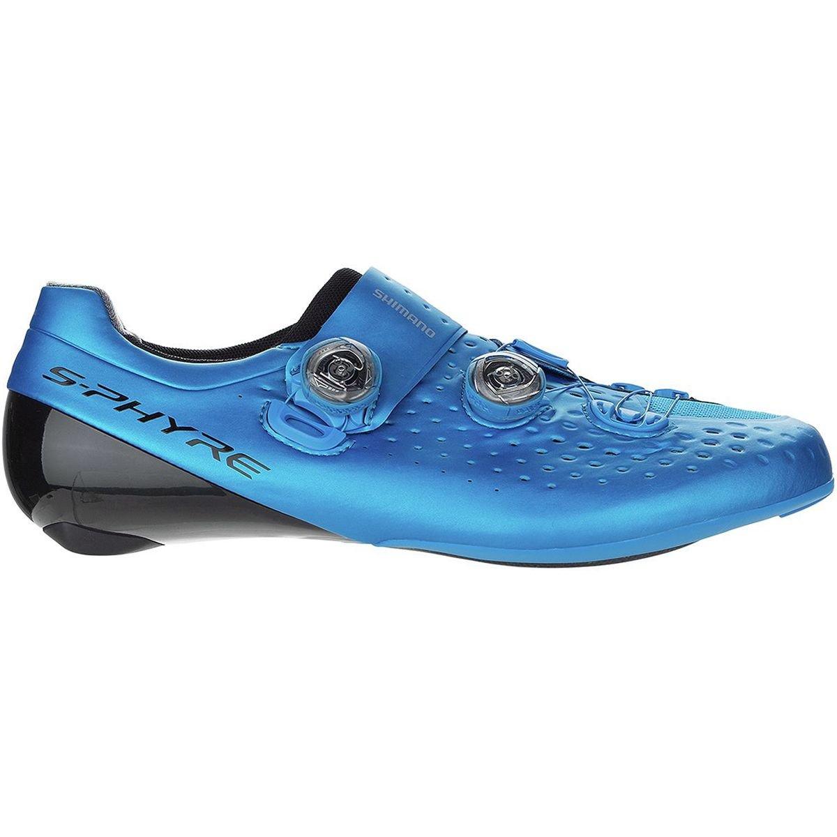 Shimano sh-rc9 s-phyre自転車Shoe – Men 'sブルー、42.0 B079DXDY39