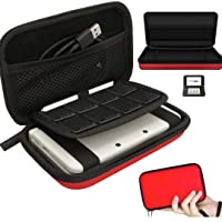 Video Game Hard Shell Carrying Travel Case and Protective Cover Pouch compatible with New Nintendo New 3DS XL / 3DS LL