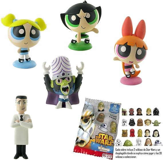 Lote 5 Figuras Comansi Las Super Nenas - Burbuja - Pétalo - Cáctus ...