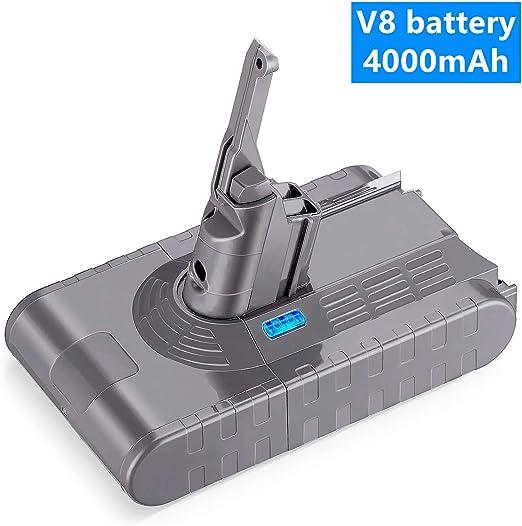 Repuesto de 21,6 V 4000 mAh Li-ion Dyson V8 batería actualización ...