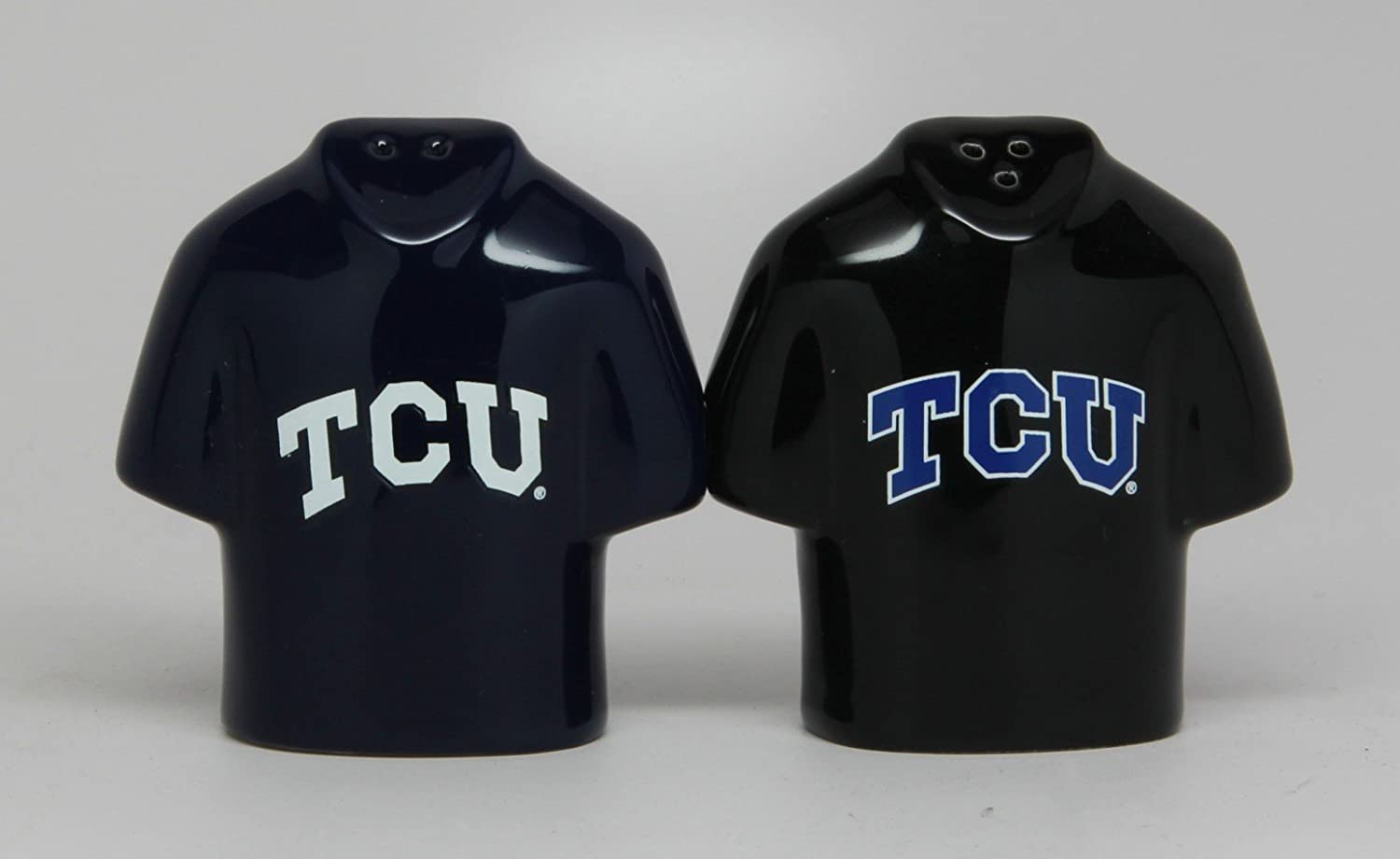 Collegiate Licensing Salt and Pepper Shaker TCU Jersey
