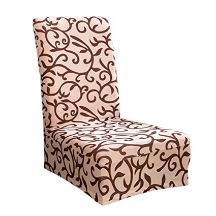 buy tomtopp printing pattern elastic home hotel dining chair covers