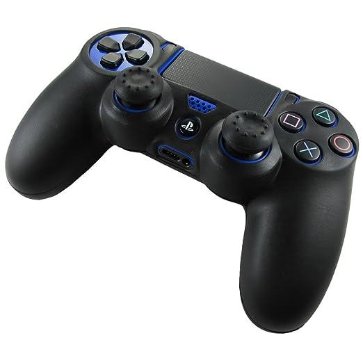 333 opinioni per Pandaren® Pelle cover skin per il PS4 controller(nero) x 1 + pollice presa x 2