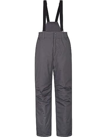 Mountain Warehouse Pantalon de ski hommes Dusk - Deux poches, guêtres de ski,  taille 0a140b26c01c