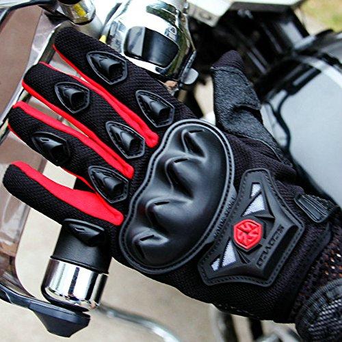 Wonzone Men's BMX MX ATV Powersports Racing Gloves Bicycle MTB Racing Off-road/Dirt bike Sports Gloves (Red, Medium) by Wonzone (Image #6)