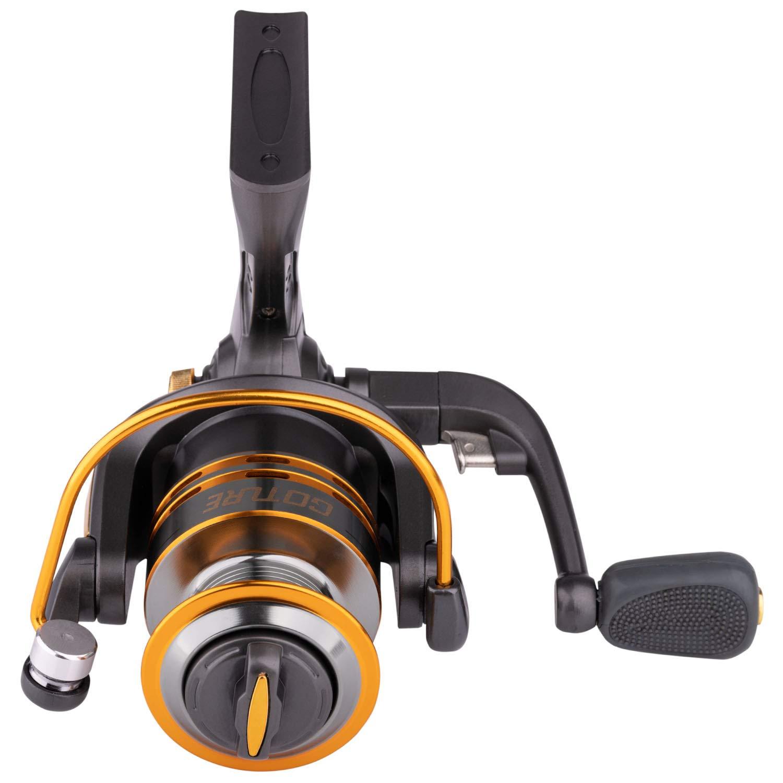 Goture Spinning Fishing Reel Metal Spool 6bb 500-6000 Series