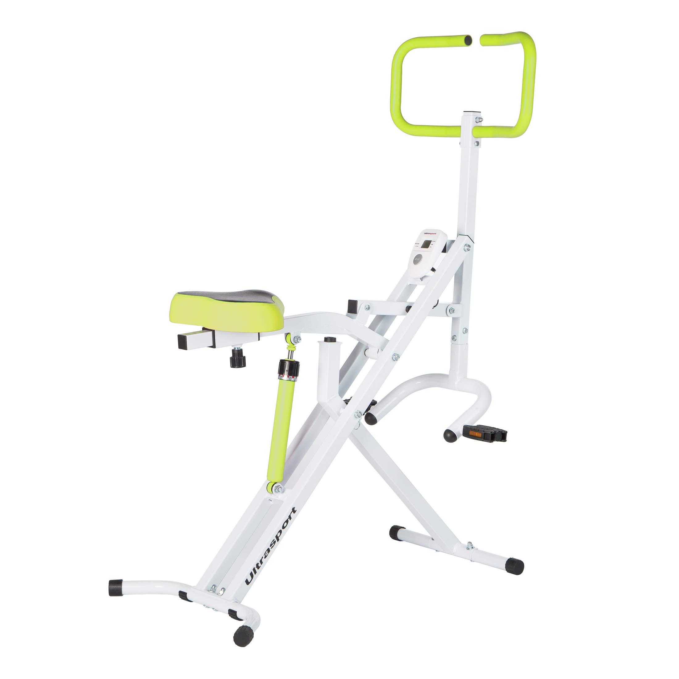 Ultrasport F-Rider Entrenamiento fitness, abdominales, tonificación abdomen, piernas y glúteos. Musculación y cardio, Verde product image