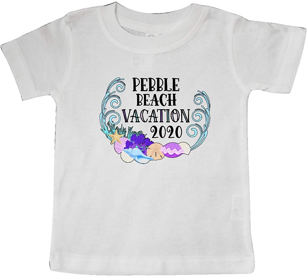 inktastic Pebble Beach Vacation 2020 with Shells Baby T-Shirt