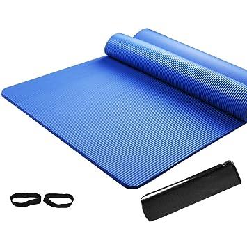 Amazon.com: MXDCYYJD Yoga Mat, Thicken 10mm Fitness Mat ...