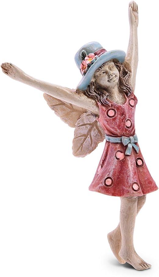 Sugar House Figura de Hada en Miniatura – Accesorios para decoración de jardín, Hadas: Amazon.es: Jardín
