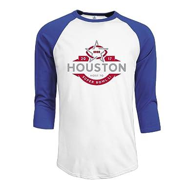 Image Unavailable. Image not available for. Color  Men s Super Bowl 51 Li  Houston 2017 3 4 Sleeve Raglan T-shirt 9632d39a0