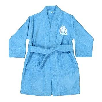 3eff3393197f1 CTI 041153 Peignoir Imprimé Om Logo Bleu 6/8 ans: Amazon.fr: Cuisine ...