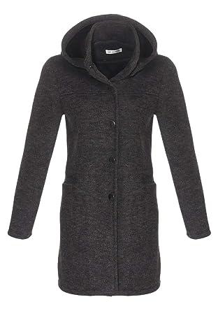 OSAB-Fashion 4827 Gefütterter Damen Mantel Jacke Winterjacke Wattejacke  Kapuze Wintermantel  Amazon.de  Bekleidung d601023389