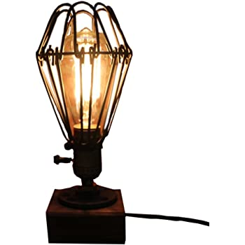 Industrial Steampunk Table Light Verttee Vintage Antique