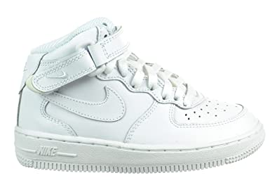 c8ec5f488cfd Image Unavailable. Image not available for. Color  Nike Air Force 1 Mid  (PS) Preschool Kids  Shoes White ...