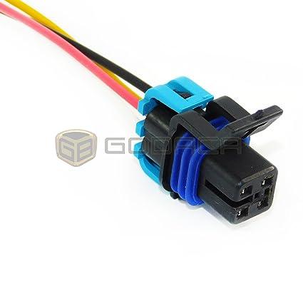 amazon com female wiring harness connector for gm chevrolet oxygen rh amazon com