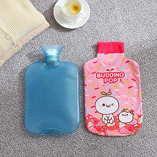 YAO LANMENG Rubber Hot Water Bag Thick Bottle Handwarmer U Shaped Pillow B1