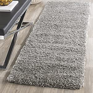 Safavieh California Shag Collection SG151-7575 Silver Area Rug (2