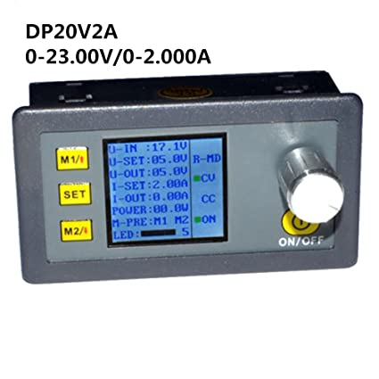 DP20V2A CVCC Programmable Control Step-down Power Supply Modul LCD Display