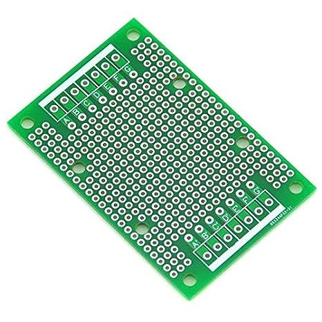 296x72mm. Electronics-Salon 10PCS Double-Side Prototype PCB,Universal Board