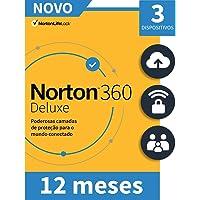 Norton 360 Deluxe 25Gb Br 1 User 3 Device 12Mo la Mm-2020-Windows