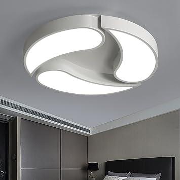 ZHDC® Lámpara de techo LED, Ronda Creativa Moderna y ...