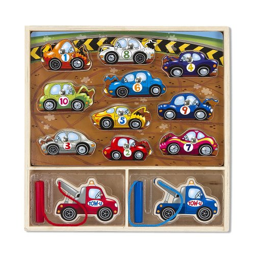 Melissa & Doug Magnetic Game Puzzle - Tow Truck