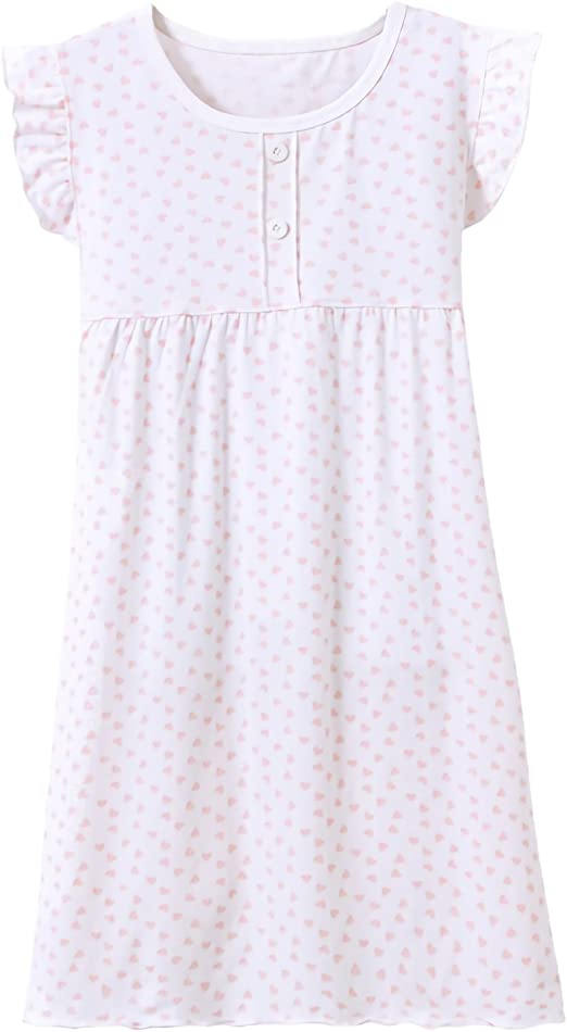 Allmeingeld Camisones para niña algodón Pijamas y Batas Manga Corta para 3-12 años: Amazon.es: Ropa y accesorios