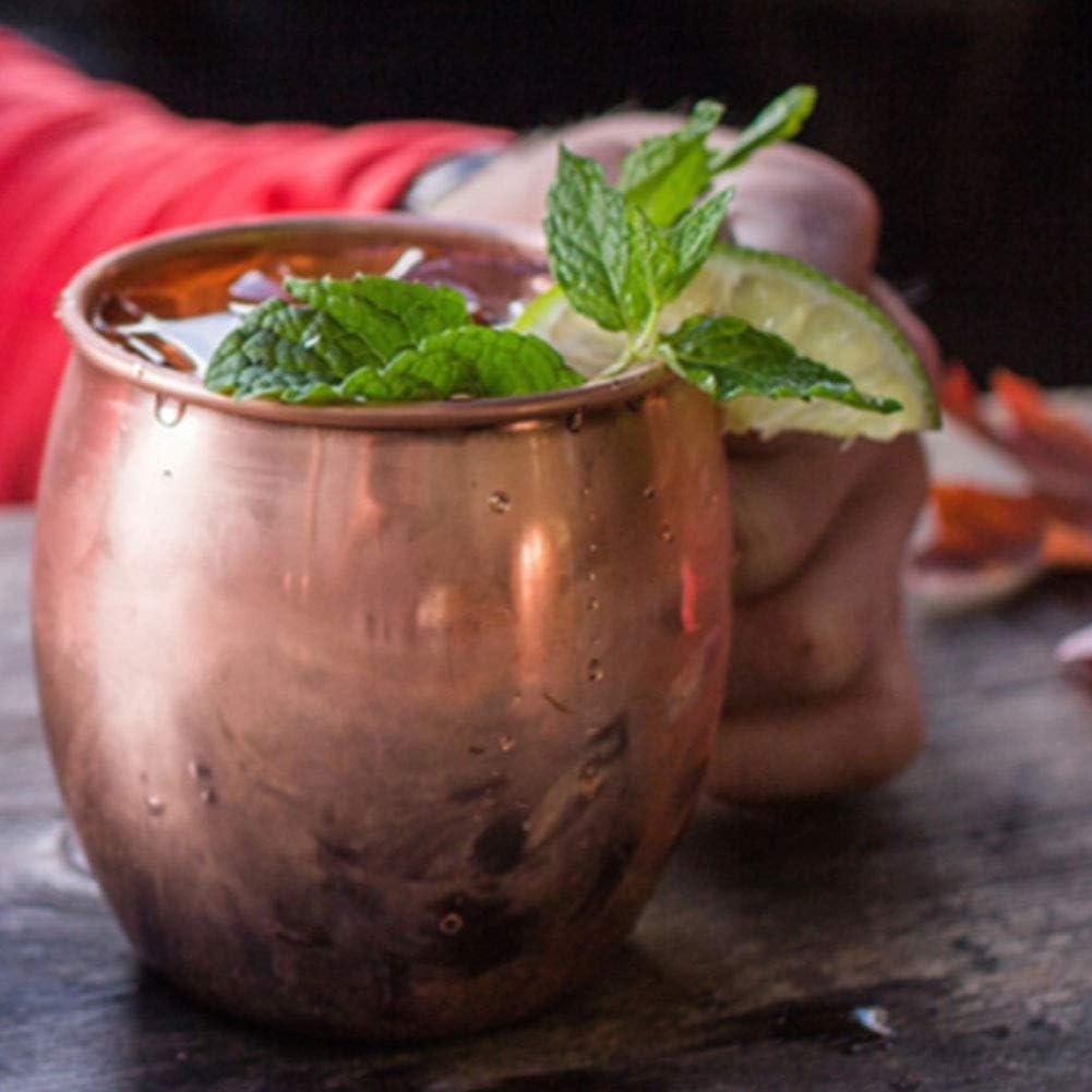 Fatta a Mano Rivestimento in Nichel Tazza per Moscow Mule in Puro Rame martellato Kitchenmore Bicchiere di Rame Moscow Mule
