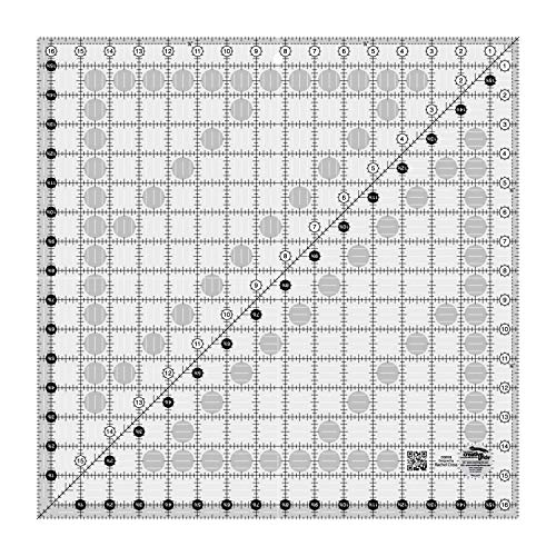 (Creative Grids Quilting Ruler 16 1/2 Inch Square (CGR16))