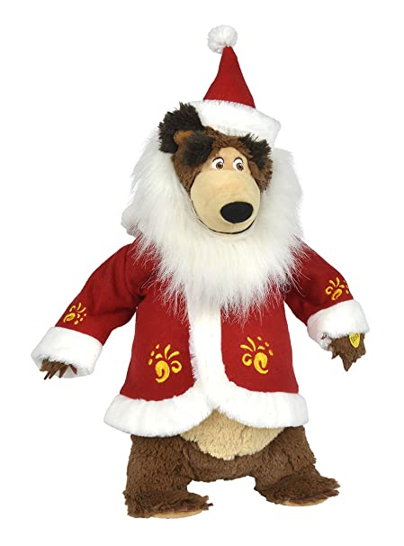 Amazon.com: Masha y el oso Navidad Papá Noel Misha ...