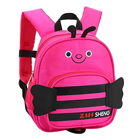 Lounayy Kindergarten Mochila Mochila Para Bebé Backpage Kid Mochila Para Escuela Bee Mochila Pequeña Mochila Para