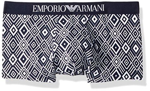 - Emporio Armani Men's Optical Blue Trunk, Rombhus, Large
